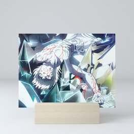 Saint Seiya Mini Art Print