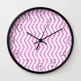 Play Pink Wall Clock