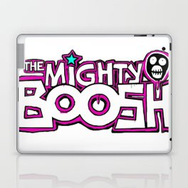 Mighty Boosh Logo, Colourful, Funky, Funny Laptop & iPad Skin