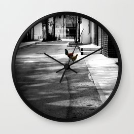 Urban Dwellers Wall Clock