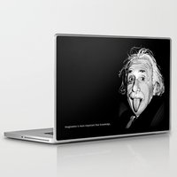 einstein Laptop & iPad Skins featuring Einstein by Michelena