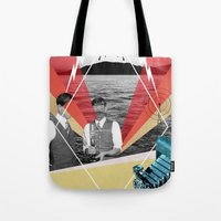 science Tote Bags featuring Science by Chris Newton