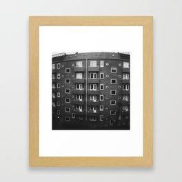 Copenhagen Flats Framed Art Print