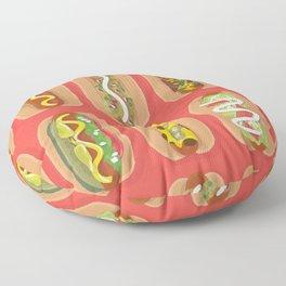Hotdog! Floor Pillow