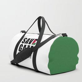 Save Gaza Quote Duffle Bag