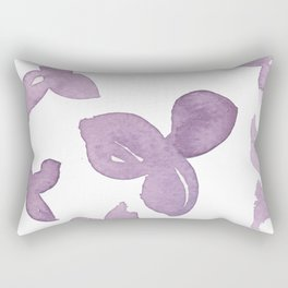 Purple Is Your Colour Rectangular Pillow