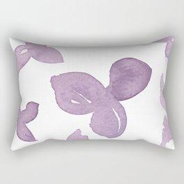 Purple Is Your Colour Rectangular Pillow