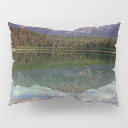 Patricia Lake Jasper Alberta by Maureen Donovan Pillow Sham