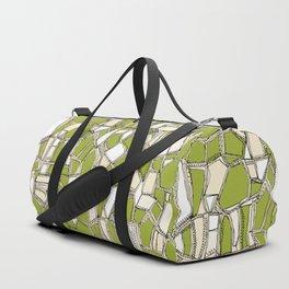 BROKEN POP citron Duffle Bag