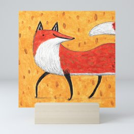 Sassy Little Fox Mini Art Print