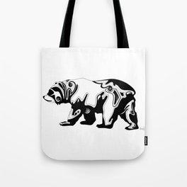 Cali Bear Tote Bag