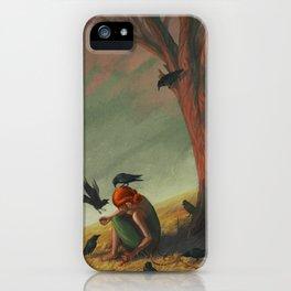 The Seven Ravens iPhone Case