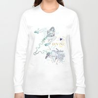 pisces Long Sleeve T-shirts featuring PISCES by Chandelina
