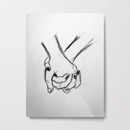 Hold Tight Metal Print