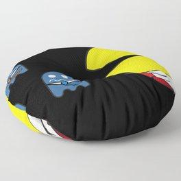 pacman effect Floor Pillow