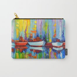 Sailboats berth Carry-All Pouch