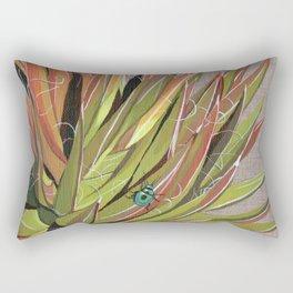 Yucca filifera with beetle Rectangular Pillow