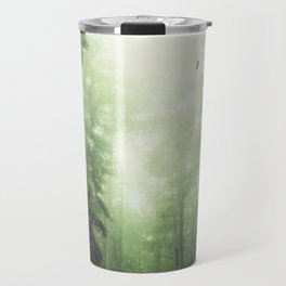 German Jungle - Forest in Morning Mist Travel Mug