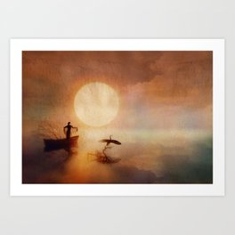 In Quiet Light Art Print