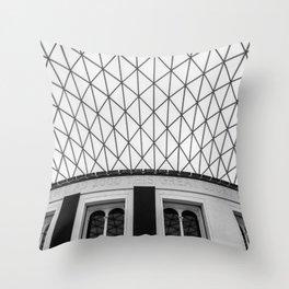 The British Museum Throw Pillow