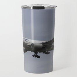 United airlines Boeing 777 Travel Mug