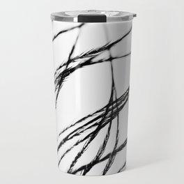 Plume- A Feather Study 3 Travel Mug