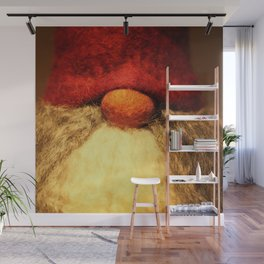Merry Christmas - Red Nose Elf  Wall Mural