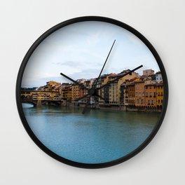 Ponte Vecchio. Wall Clock