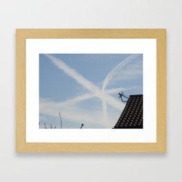 Star in the Sky Framed Art Print