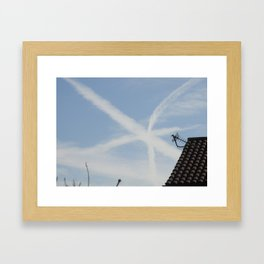 Star in the Sky Framed Art Print