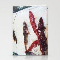 ghibli Stationery Cards featuring Almost Ghibli by hyscherical
