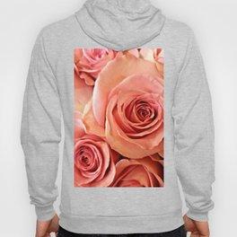 Peach Roses 4 Hoody