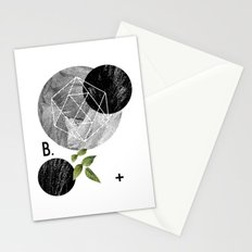 B-plus. Stationery Cards