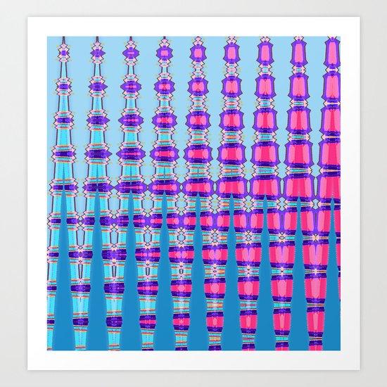 colorfingers Art Print