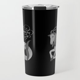 Capricorn Astrology Zodiac Travel Mug