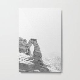 DELICATE ARCH II Metal Print