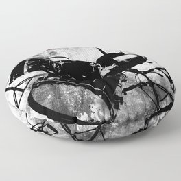 Rock 'n Roll Drums Floor Pillow