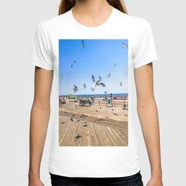 Seagulls of Coney Island T-shirt