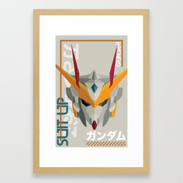Suit Up // Gundam Framed Art Print