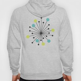 Atomic Age Nuclear Motif — Mid Century Modern Hoody