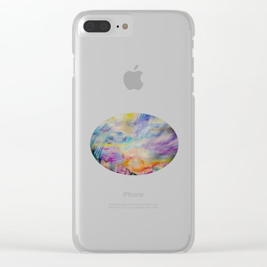 Double Sunset Clear iPhone Case