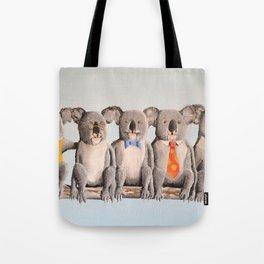 The Five Koalas Tote Bag