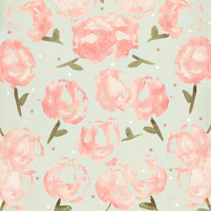 Syana's Cabbage Roses Comforters