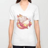 thundercats V-neck T-shirts featuring Snaaaaaaarf by Joopis