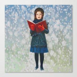 Shirley Temple Christmas Canvas Print