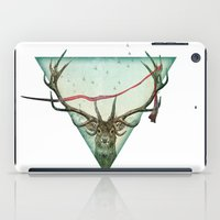 runner iPad Cases featuring scarlet runner by Vin Zzep