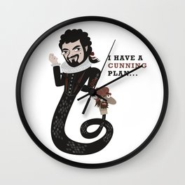 I have a cunning plan... Wall Clock