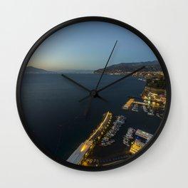 Sorrento Twylight Wall Clock