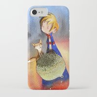 the little prince iPhone & iPod Cases featuring Little Prince by Jose Luis Ocana