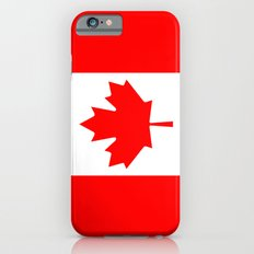 The National Flag of Canada, Authentic color and 3:5 scale version  iPhone 6 Slim Case